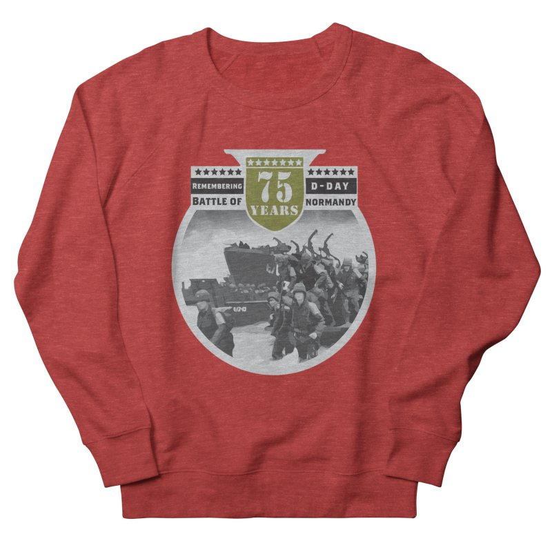 D-day 75th Anniversary: Battle of Normandy Men's French Terry Sweatshirt by Moon Joggers's Artist Shop
