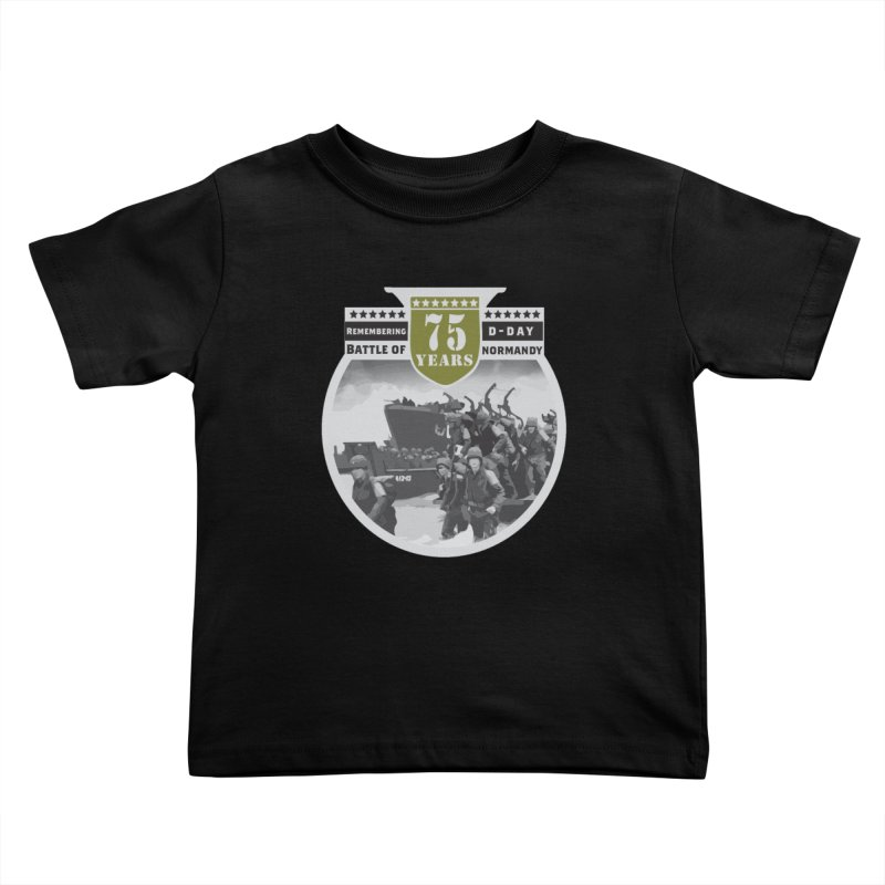 D-day 75th Anniversary: Battle of Normandy Kids Toddler T-Shirt by Moon Joggers's Artist Shop