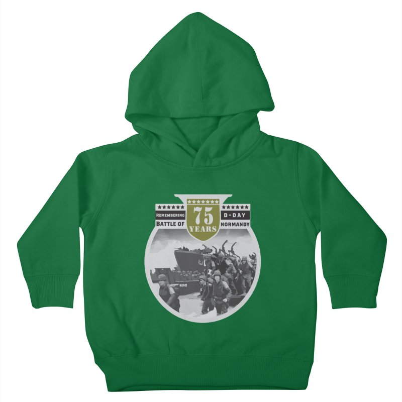 D-day 75th Anniversary: Battle of Normandy Kids Toddler Pullover Hoody by Moon Joggers's Artist Shop