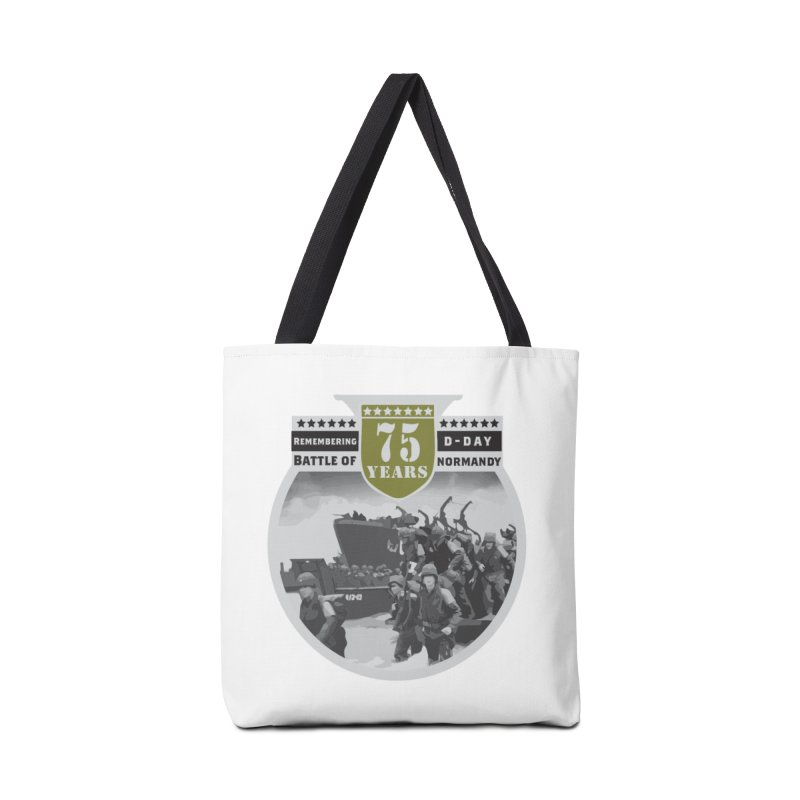 D-day 75th Anniversary: Battle of Normandy Accessories Tote Bag Bag by Moon Joggers's Artist Shop