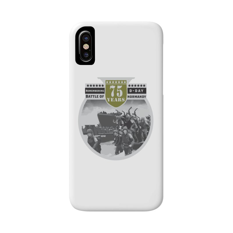 D-day 75th Anniversary: Battle of Normandy Accessories Phone Case by Moon Joggers's Artist Shop