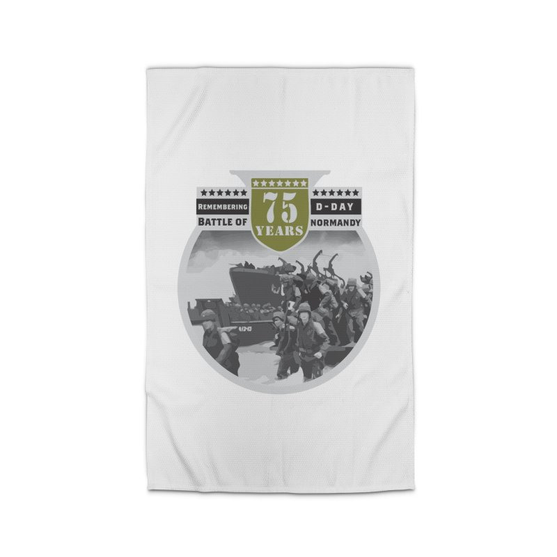 D-day 75th Anniversary: Battle of Normandy Home Rug by Moon Joggers's Artist Shop