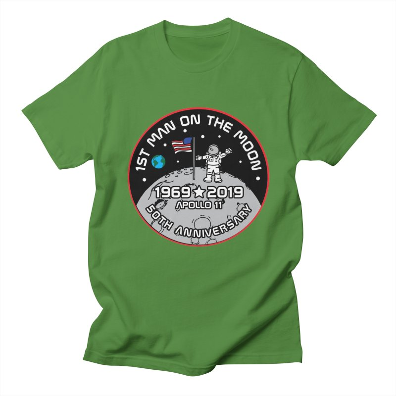 50th Anniversary of First Man Landing on the Moon Women's Regular Unisex T-Shirt by Moon Joggers's Artist Shop
