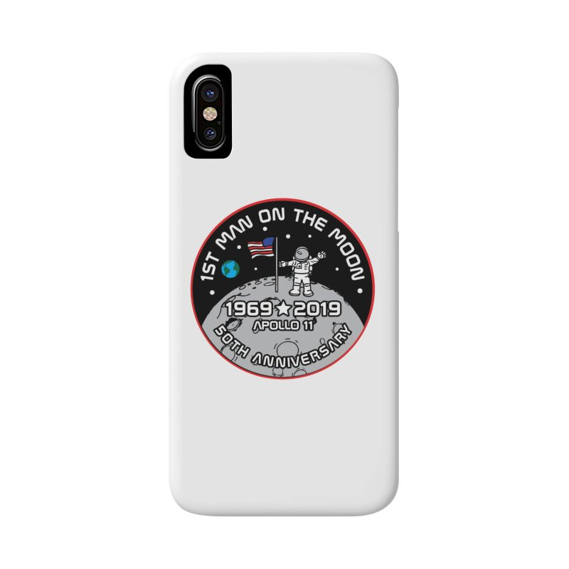 50th Anniversary of First Man Landing on the Moon Accessories Phone Case by Moon Joggers's Artist Shop