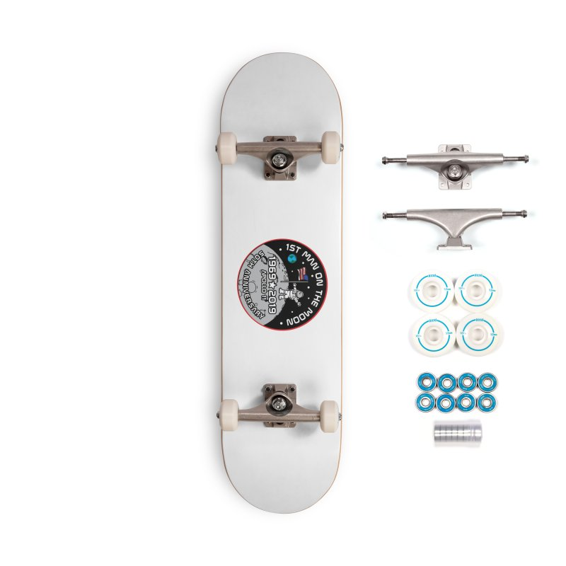50th Anniversary of First Man Landing on the Moon Accessories Complete - Basic Skateboard by Moon Joggers's Artist Shop