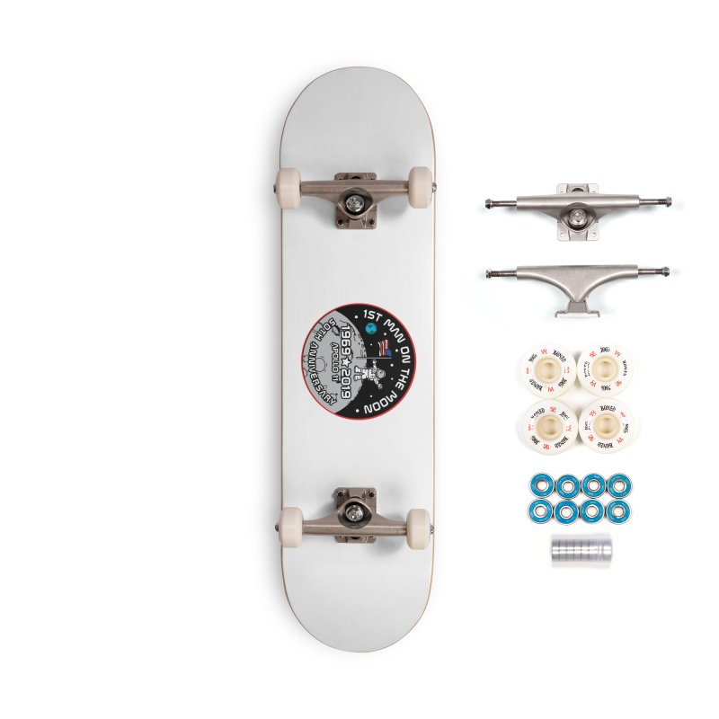 50th Anniversary of First Man Landing on the Moon Accessories Complete - Premium Skateboard by Moon Joggers's Artist Shop