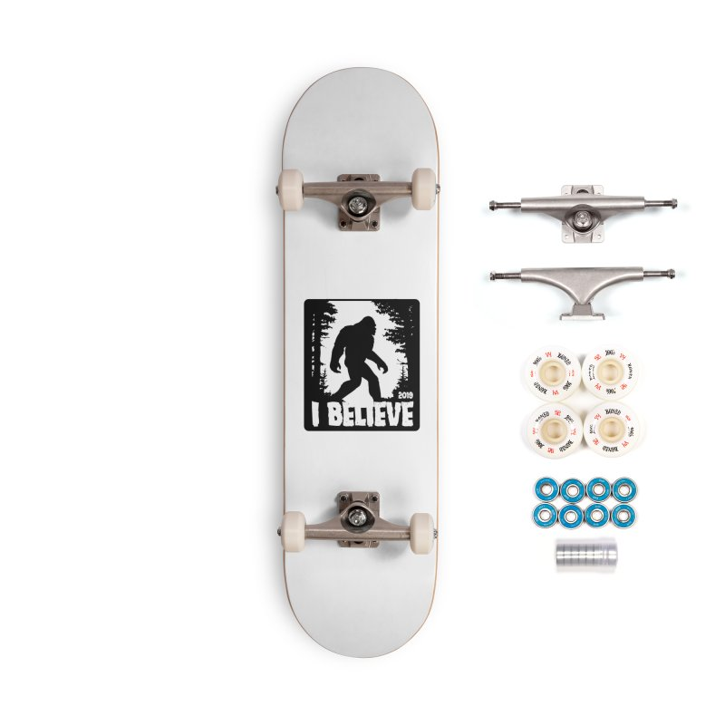 I Believe!  (Bigfoot) Accessories Complete - Premium Skateboard by Moon Joggers's Artist Shop