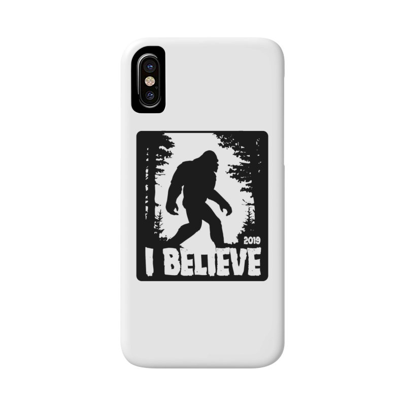 I Believe!  (Bigfoot) Accessories Phone Case by Moon Joggers's Artist Shop