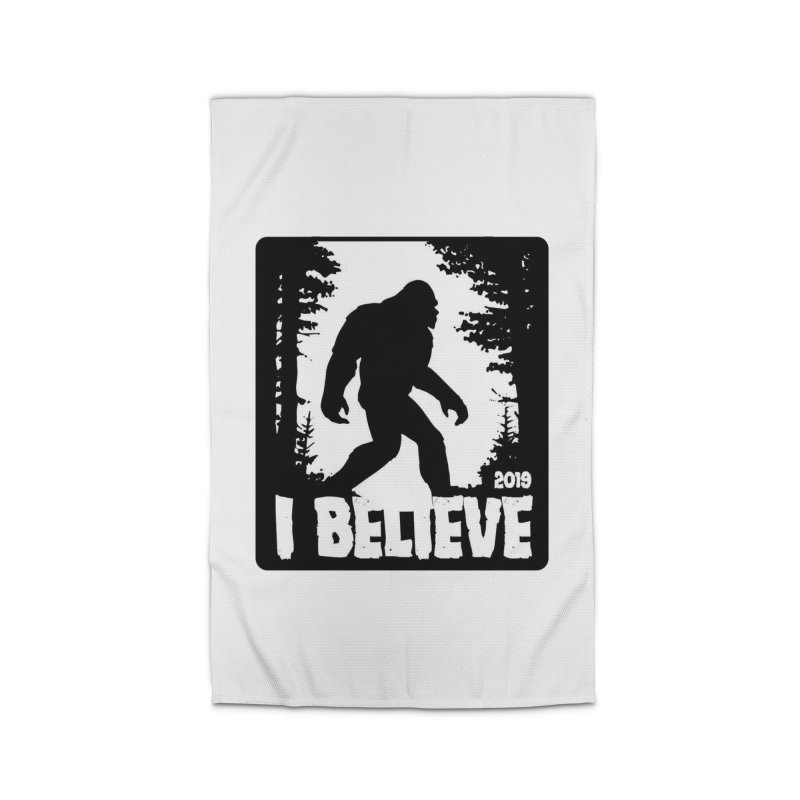 I Believe!  (Bigfoot) Home Rug by Moon Joggers's Artist Shop