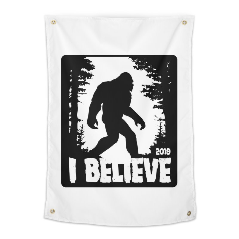 I Believe!  (Bigfoot) Home Tapestry by Moon Joggers's Artist Shop