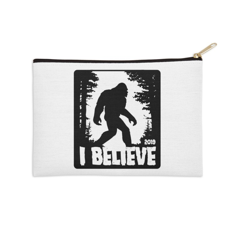 I Believe!  (Bigfoot) Accessories Zip Pouch by Moon Joggers's Artist Shop