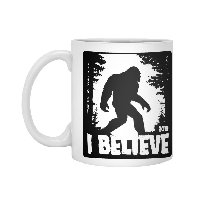 I Believe!  (Bigfoot) Accessories Standard Mug by Moon Joggers's Artist Shop