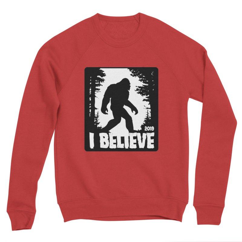I Believe!  (Bigfoot) Men's Sponge Fleece Sweatshirt by Moon Joggers's Artist Shop