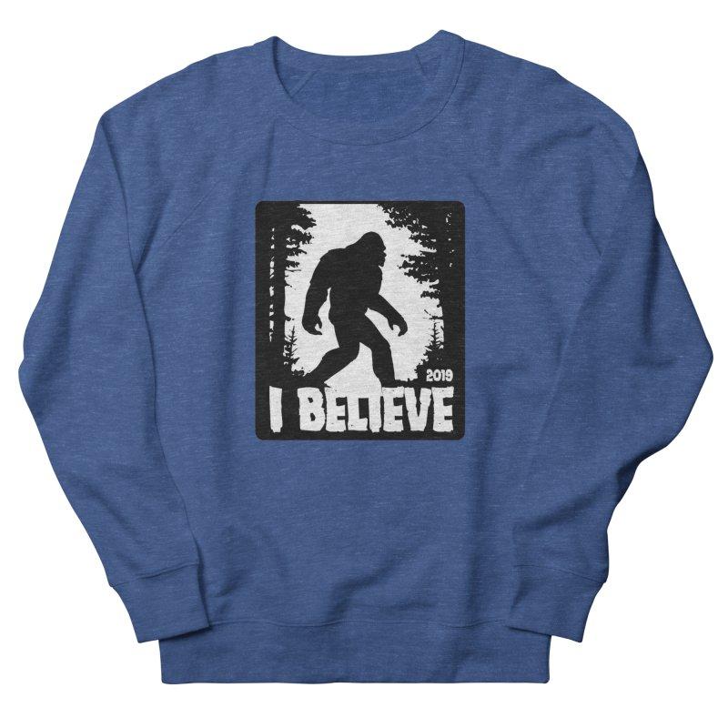 I Believe!  (Bigfoot) Men's Sweatshirt by Moon Joggers's Artist Shop