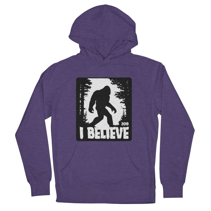 I Believe!  (Bigfoot) Women's French Terry Pullover Hoody by Moon Joggers's Artist Shop