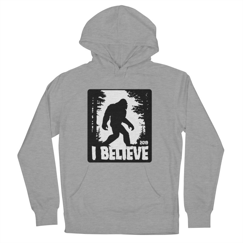 I Believe!  (Bigfoot) Men's French Terry Pullover Hoody by Moon Joggers's Artist Shop