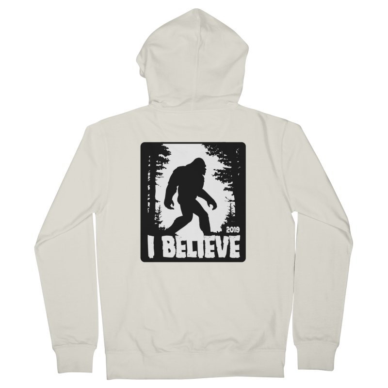 I Believe!  (Bigfoot) Women's French Terry Zip-Up Hoody by Moon Joggers's Artist Shop