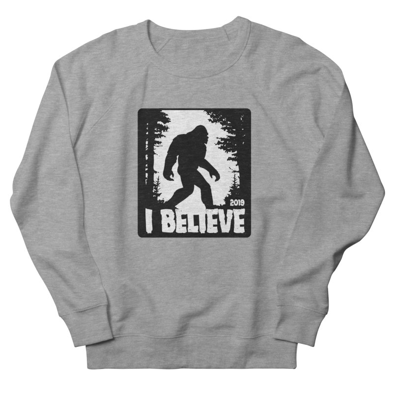 I Believe!  (Bigfoot) Men's French Terry Sweatshirt by Moon Joggers's Artist Shop