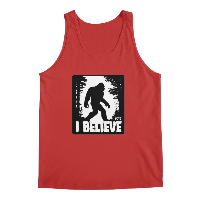 I Believe!  (Bigfoot) Men's Regular Tank by Moon Joggers's Artist Shop