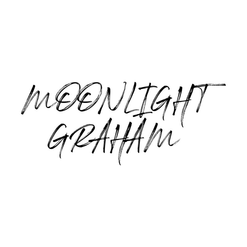 Moonlight Graham Handwritten Women's V-Neck by moonlightgraham's Artist Shop