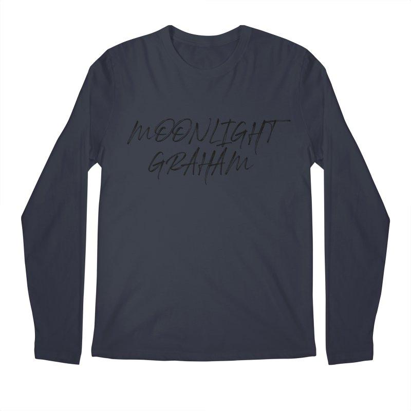 Moonlight Graham Handwritten Men's Regular Longsleeve T-Shirt by moonlightgraham's Artist Shop