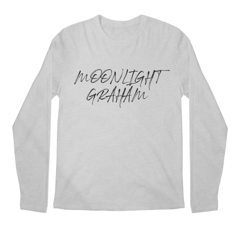 Moonlight Graham Handwritten Men's Regular Longsleeve T-Shirt by moonlightgraham's Artist Shop