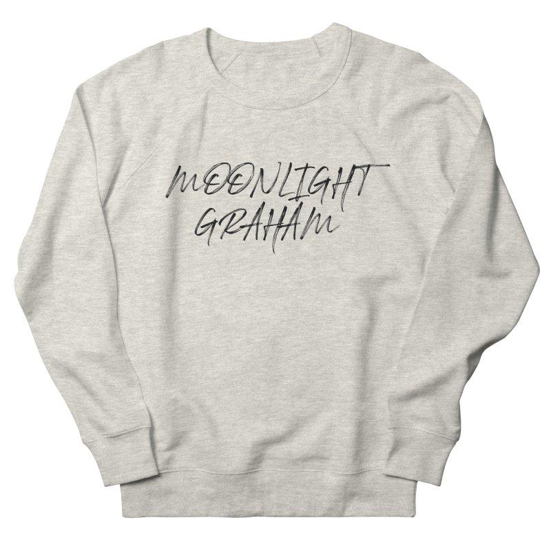 Moonlight Graham Handwritten Men's French Terry Sweatshirt by moonlightgraham's Artist Shop