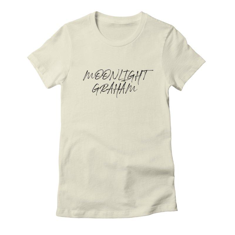 Moonlight Graham Handwritten Women's Fitted T-Shirt by moonlightgraham's Artist Shop