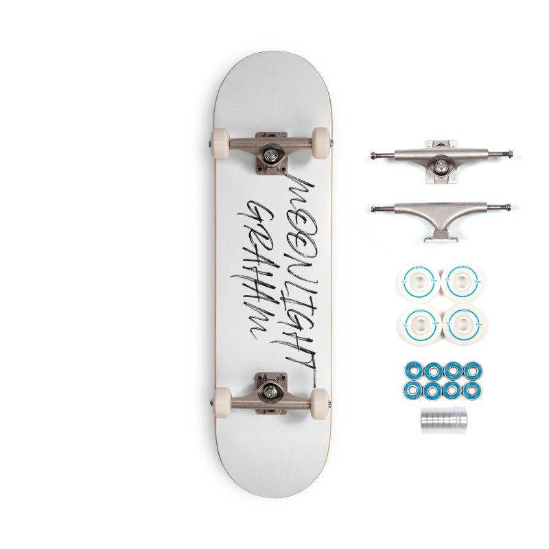 Moonlight Graham Handwritten Accessories Skateboard by moonlightgraham's Artist Shop