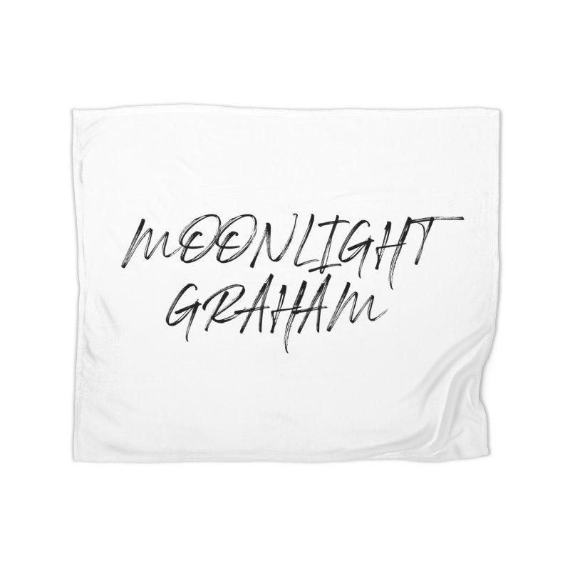 Moonlight Graham Handwritten Home Fleece Blanket Blanket by moonlightgraham's Artist Shop