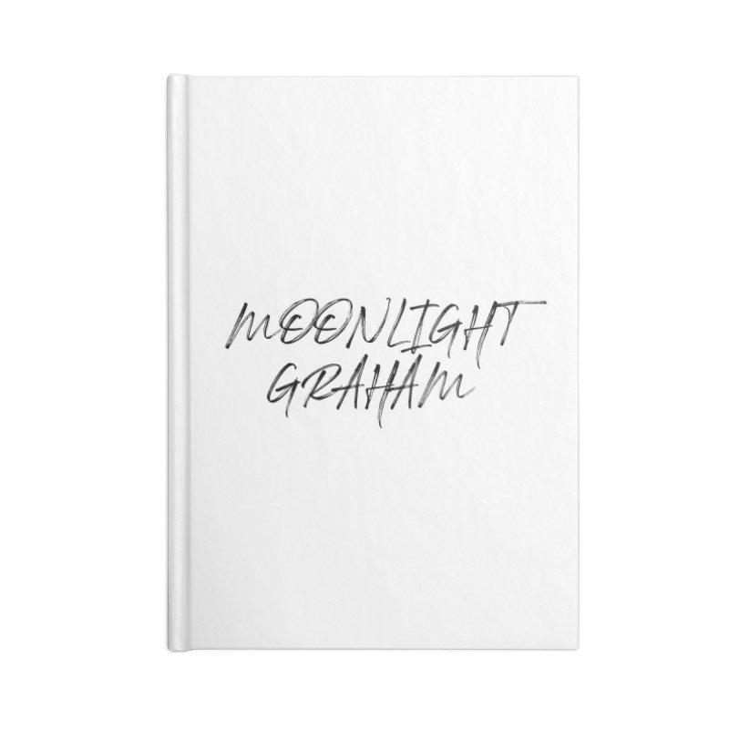 Moonlight Graham Handwritten Accessories Lined Journal Notebook by moonlightgraham's Artist Shop