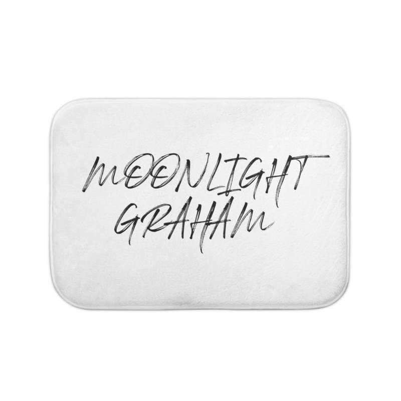 Moonlight Graham Handwritten Home Bath Mat by moonlightgraham's Artist Shop