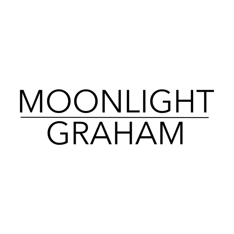 Moonlight Graham Black Text by moonlightgraham's Artist Shop