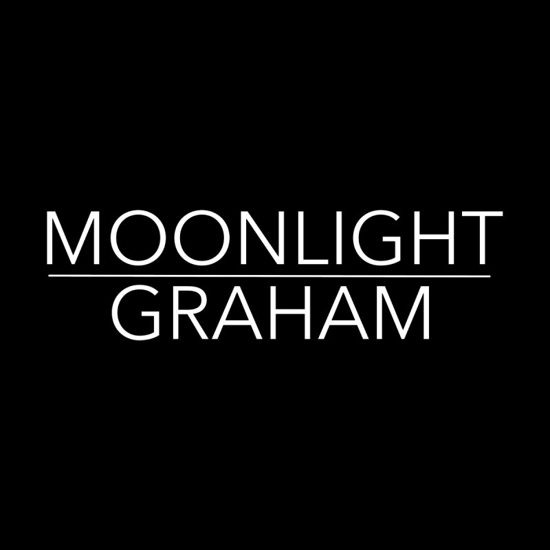 Moonlight Graham White Text by moonlightgraham's Artist Shop