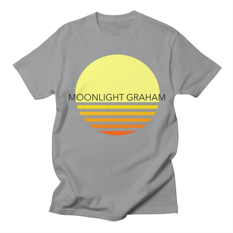 Before The Sun Black Text Men's Regular T-Shirt by moonlightgraham's Artist Shop
