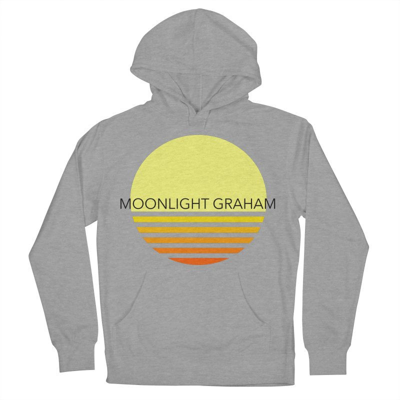Before The Sun Black Text Men's French Terry Pullover Hoody by moonlightgraham's Artist Shop