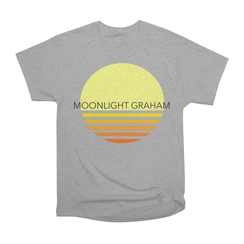 Before The Sun Black Text Men's Heavyweight T-Shirt by moonlightgraham's Artist Shop