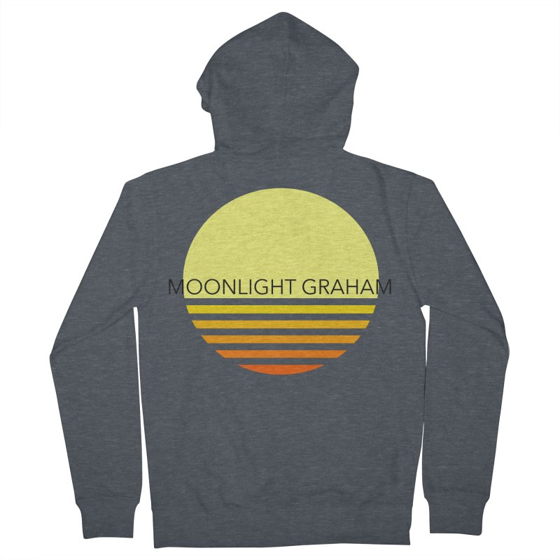 Before The Sun Black Text Women's French Terry Zip-Up Hoody by moonlightgraham's Artist Shop