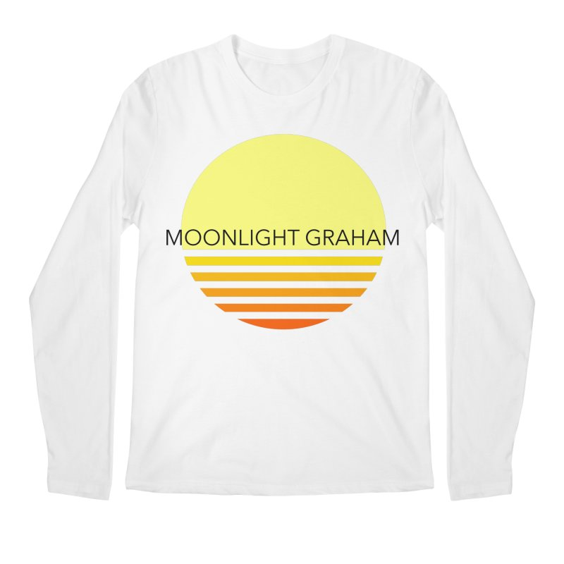Before The Sun Black Text Men's Regular Longsleeve T-Shirt by moonlightgraham's Artist Shop