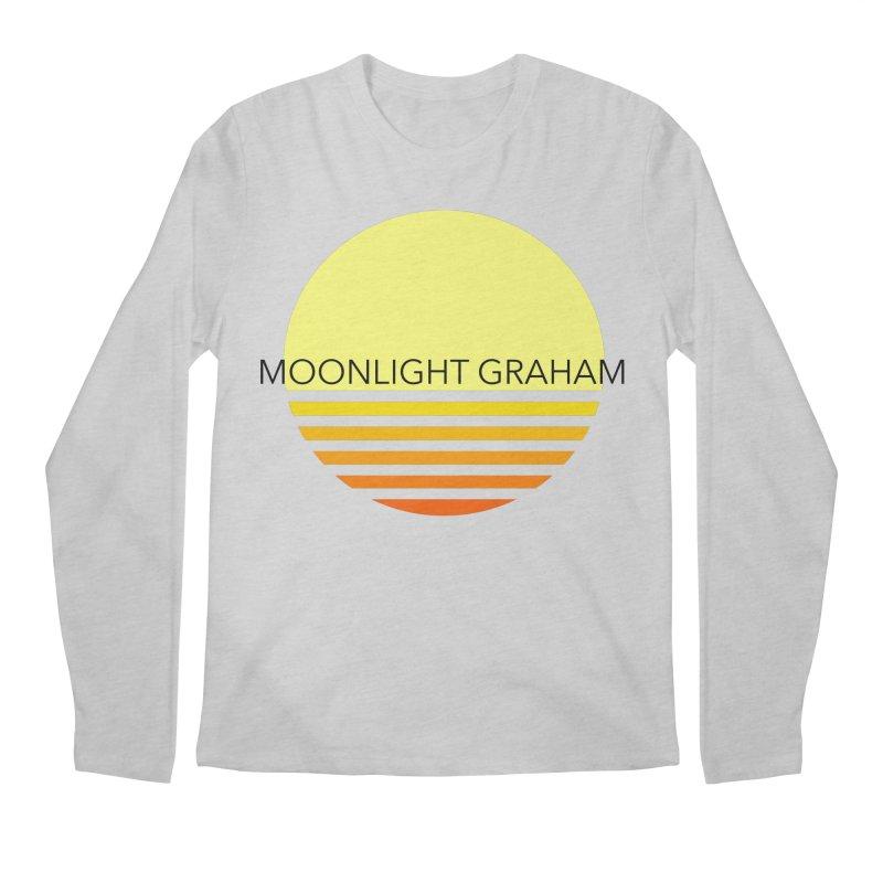 Before The Sun Black Text Men's Regular Longsleeve T-Shirt by moonlightgraham's Artist Shop