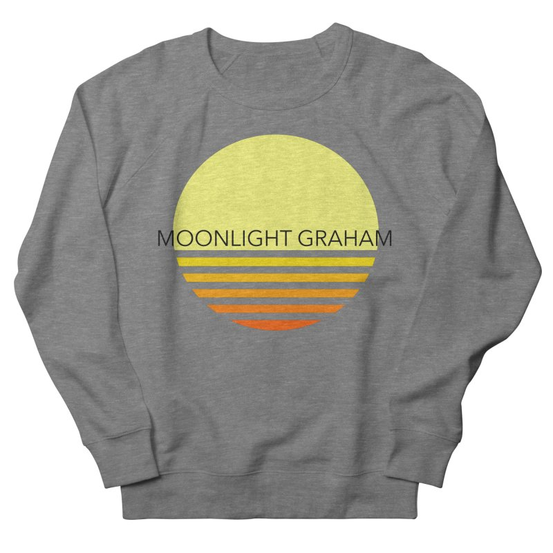 Before The Sun Black Text Men's French Terry Sweatshirt by moonlightgraham's Artist Shop