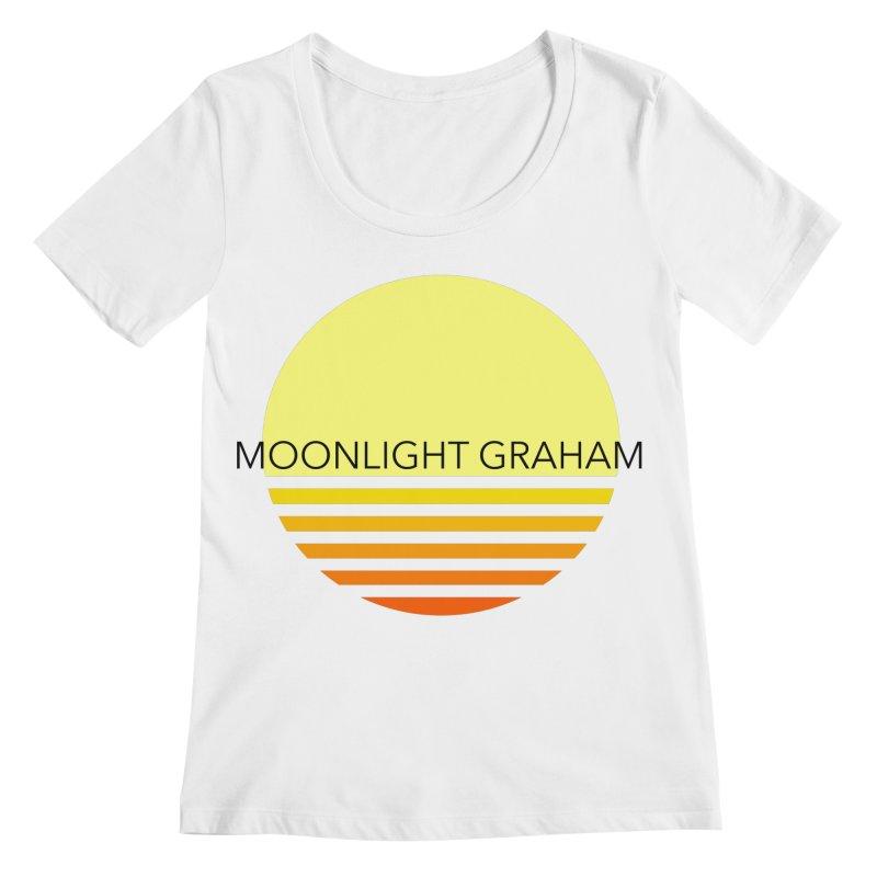 Before The Sun Black Text Women's Regular Scoop Neck by moonlightgraham's Artist Shop