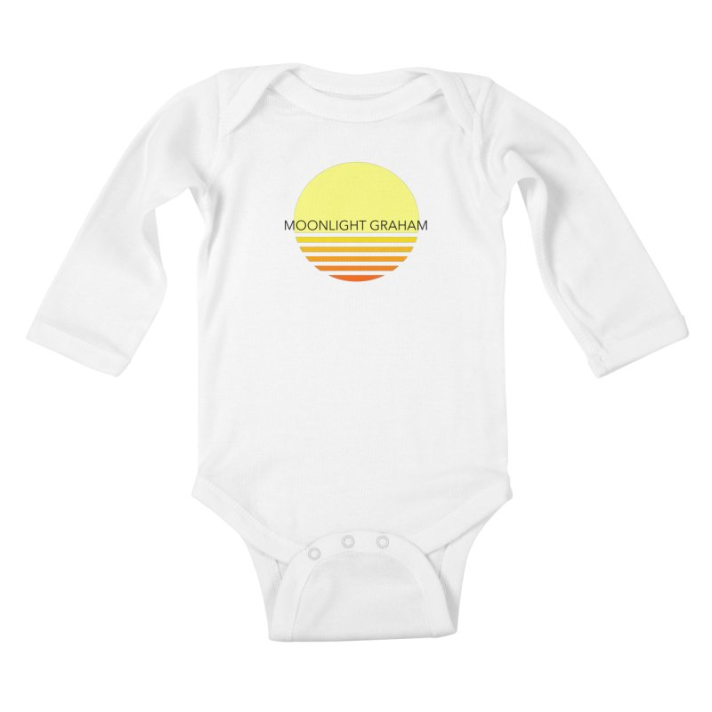 Before The Sun Black Text Kids Baby Longsleeve Bodysuit by moonlightgraham's Artist Shop
