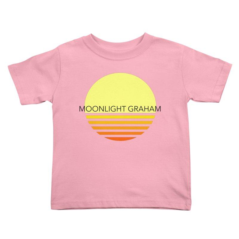 Before The Sun Black Text Kids Toddler T-Shirt by moonlightgraham's Artist Shop