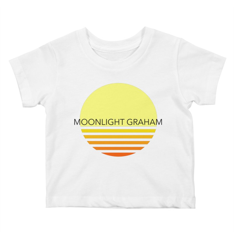 Before The Sun Black Text Kids Baby T-Shirt by moonlightgraham's Artist Shop