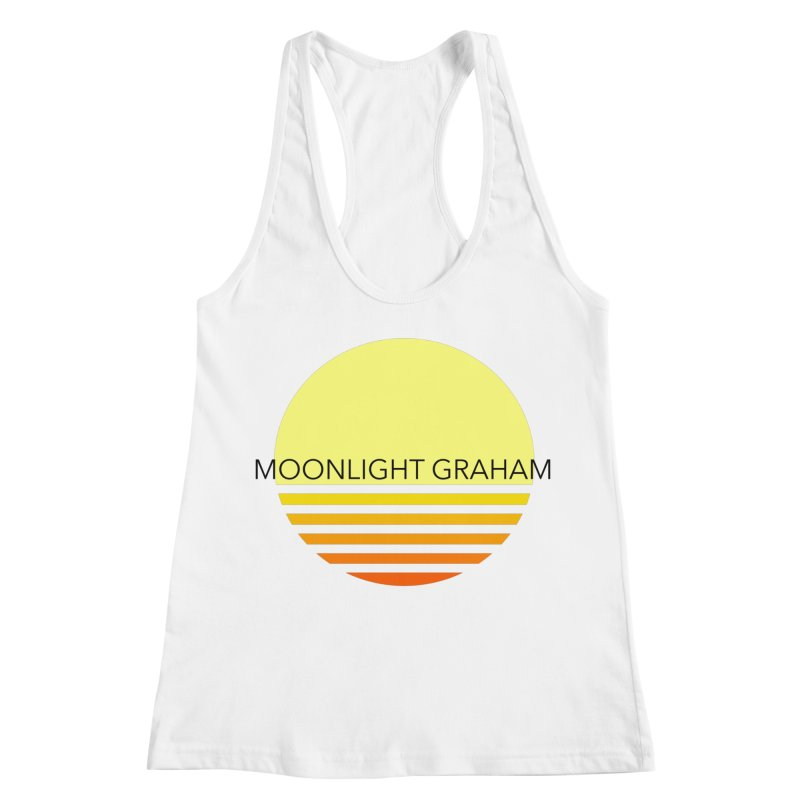 Before The Sun Black Text Women's Racerback Tank by moonlightgraham's Artist Shop
