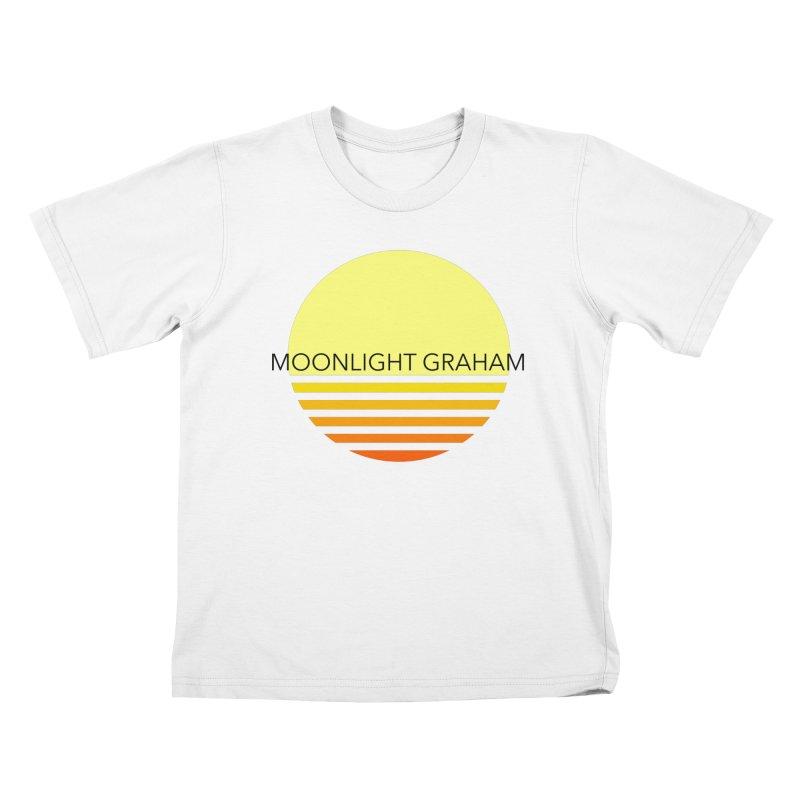 Before The Sun Black Text Kids T-Shirt by moonlightgraham's Artist Shop