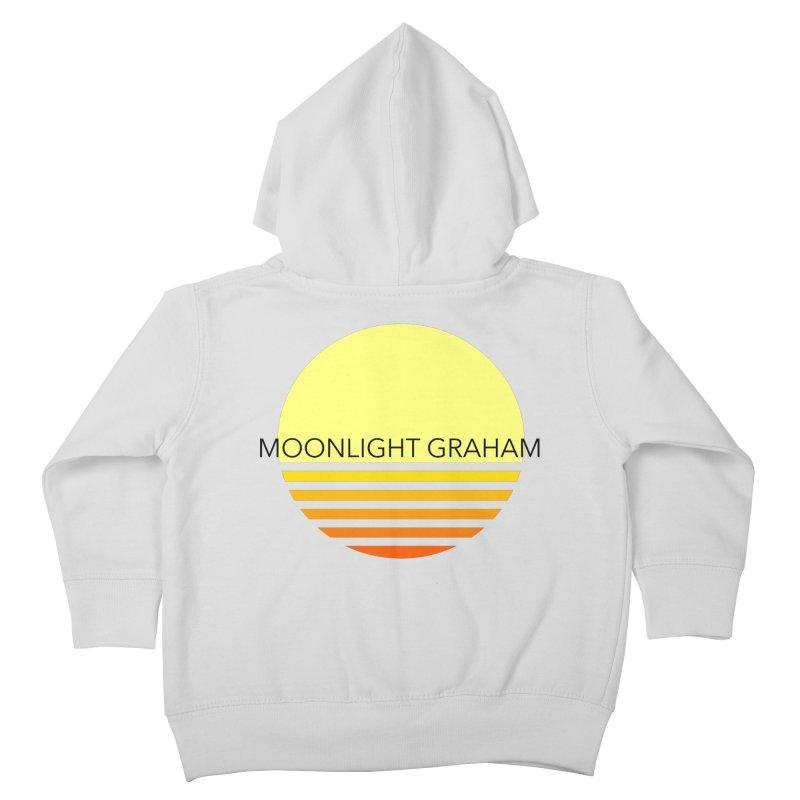 Before The Sun Black Text Kids Toddler Zip-Up Hoody by moonlightgraham's Artist Shop