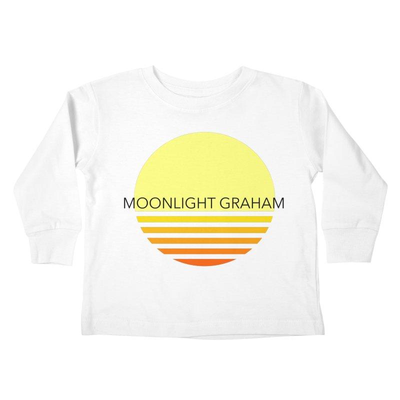 Before The Sun Black Text Kids Toddler Longsleeve T-Shirt by moonlightgraham's Artist Shop