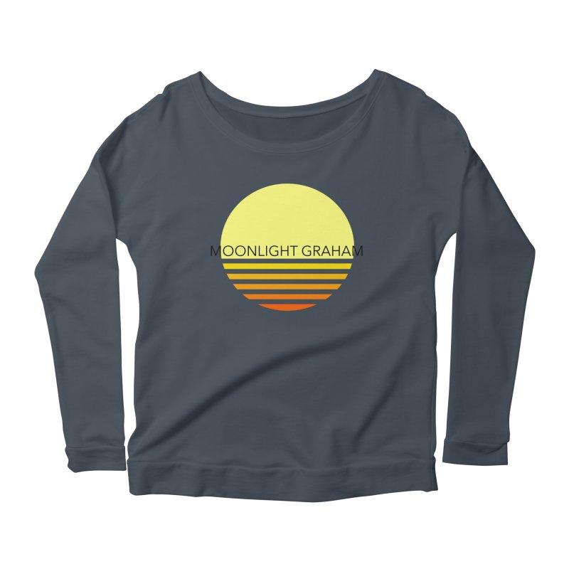 Before The Sun Black Text Women's Scoop Neck Longsleeve T-Shirt by moonlightgraham's Artist Shop